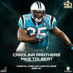 Future member @GoCCUsports also has 2 former student-athletes in #SB50 @J_No24 @miketolbert35 https://t.co/3672ecXACD