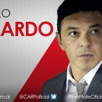 El DT de #River: Marcelo Gallardo. https://t.co/1SVSBPVnaT