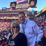 Were here and ready to cheer on the @Panthers !! #KeepPounding #SB50 #WarEagle https://t.co/rZdoIhkeeG