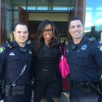 We met the incomparable sportscaster Pam Oliver at the NFL Alumni Official Game Day Brunch in #PaloAlto today! #SB50 https://t.co/s09P53b9Yi