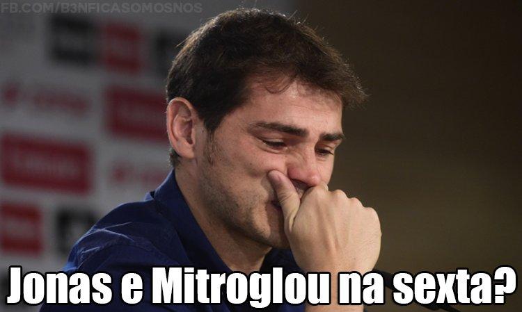 """Humm humm.. Sexta não posso tirar folga, mr. Pesero?"" :) #CarregaBenfica https://t.co/vmu1SVfbOz"