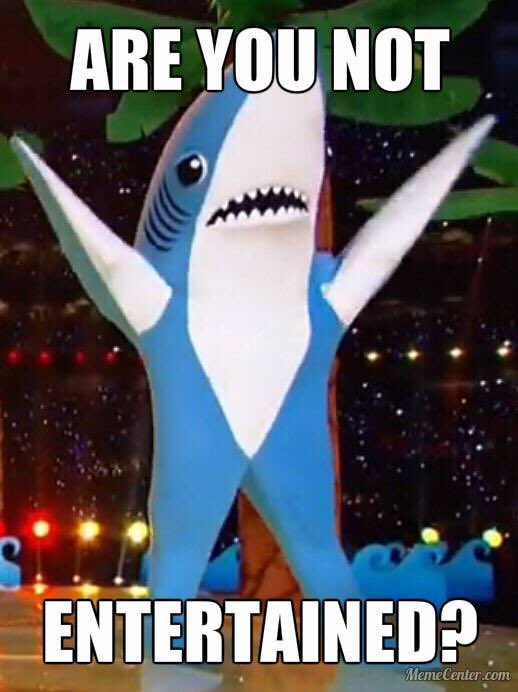 Meh. It's fine. But, no Left Shark. You know what I mean? https://t.co/ApKNMpmvHN