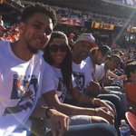 So blessed!! Amazing atmosphere here at Super Bowl 50!! Go Jojo & Bromcos https://t.co/L3QuEOY4Gg