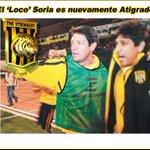 Mauricio Soria, nuevamente técnico de The Strongest. Bienvenido Profe! https://t.co/z2C05n2U6C