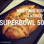Send us photos of your #SB50 spread! @Coloradoan planning editor @jenniferhefty made a football bread bowl. https://t.co/cn9c7V5pds
