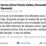 EL DICTADOR EVO MORALES Y SU DELITO. @miguelhotero @yo_gringoloco @PotosiF2015 @IsabelGraciaV @fmilenio https://t.co/tudWSDvGU5