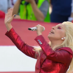 Lady Gaga just just crushed the National Anthem and were ready for some football! #SB50 https://t.co/drVtNaKh2R