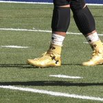 Under Armour says it sold out of Cam Newtons gold MVP cleats at $500 a pair in an hour and a half last night https://t.co/DSEAM7P98C