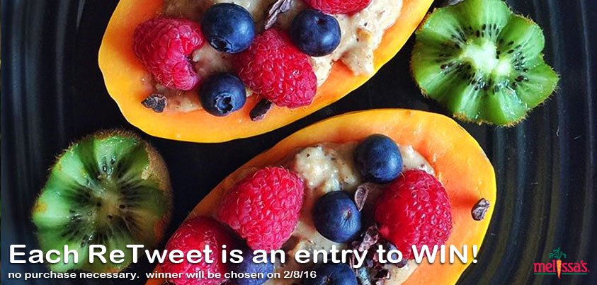 Each ReTweet is a Chance to Win some #HealthyOptions. Pass it on!  #ProduceBowl #SB50 #SuperBowl https://t.co/6MtzHymVOQ