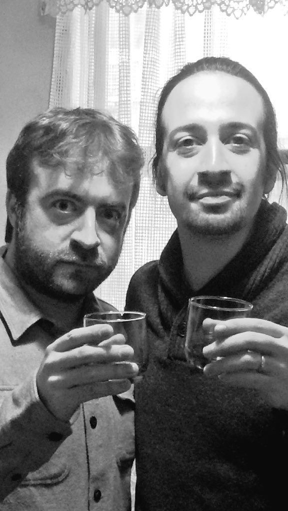 """We are not throwing away our shots"" @Lin_Manuel https://t.co/ZRnTZiqpqJ"