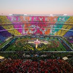 BELIEVE IN LOVE <3 #SB50 #HalftimeShow #Chills (Photo by Ezra Shaw/Getty Images) https://t.co/sw3wblLa3p