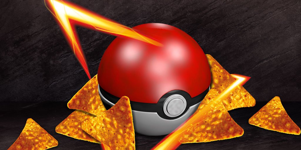 .@Pokemon Gotta crunch 'em all. Happy 20th Anniversary. #Doritos #Pokemon #SB50 https://t.co/SKJVadSlPI
