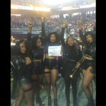 Beyonces dancers held up a #JusticeForMarioWoods sign awesome! #MarioWoods https://t.co/70ytLcQmog