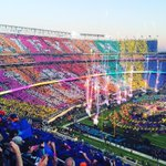 Not a huge Coldplay fan, but this was cool. @KDVR #Broncos #SB50 https://t.co/FmGIPzODyS