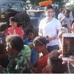 Currently - @aldenrichards02 in a charity event for the Aeta community with @ALDENatics (Ctto) #ALDUBTuLoyPaRin https://t.co/rLi1JXJM2i
