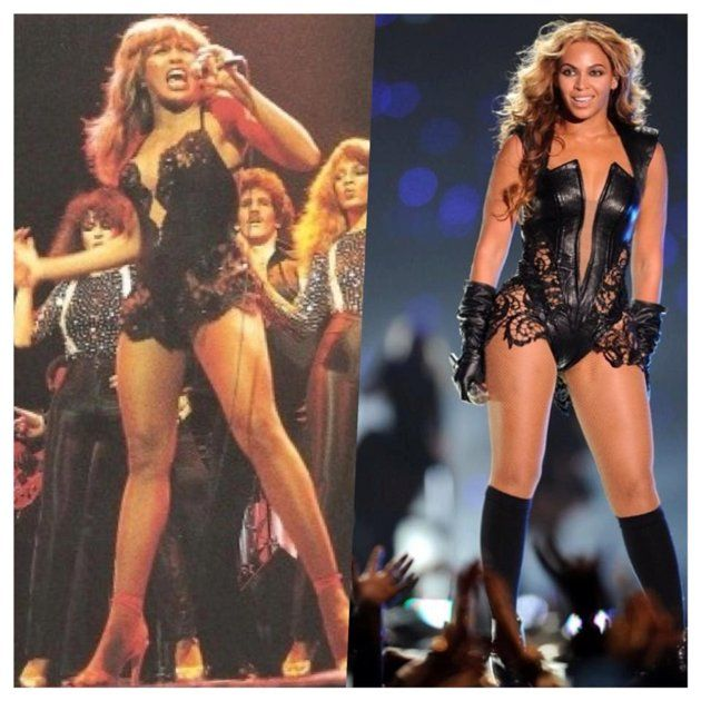 Bey's Super Bowl outfit homages to Tina Turner and MJ....who will it be next time? https://t.co/RJrI74KAWx