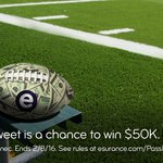 With fast, easy photo claims, your car will spend less time on the bench. #EsuranceSweepstakes #SB50 https://t.co/436BFf9O1S