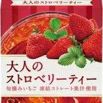 【限定発売】「午後の紅茶」から、大人のストロベリーティー登場 カロリー0でうれしい https://t.co/UxtOUSYBB4 旬摘みイチゴの甘く華やかな香りと、ジューシーな甘酸っぱさを楽しめる大人味のフルーツティー。 https://t.co/BT5pgO391M