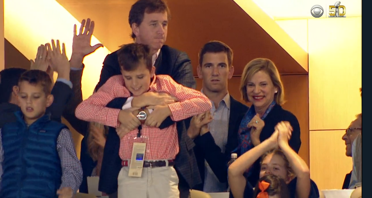 Eli Manning knows what you did last summer. #SB50 https://t.co/mev8jmkWqJ