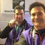 This ones for Pat. And Peyton. #Broncos #SB50 champs. @DenverChannel waiting to go on field. https://t.co/cJwn15E3qZ