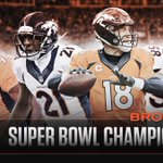 #SB50 CHAMPS! Peyton Manning wins 2nd Super Bowl as dominant D leads Broncos to a 24-10 victory over the Panthers. https://t.co/e41HQCQaCv