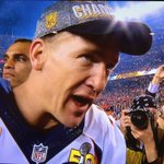 """""""Im gonna go drink a lot of Budweiser first"""" lol... #champ #Broncos #superbowl50 https://t.co/ZoiWp7AMEp"""