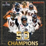 The Denver Broncos. #SB50 Champs! Flip over to @NFLGameDay FInal. Well recap the entire game & more! https://t.co/NMxSeKMaLh