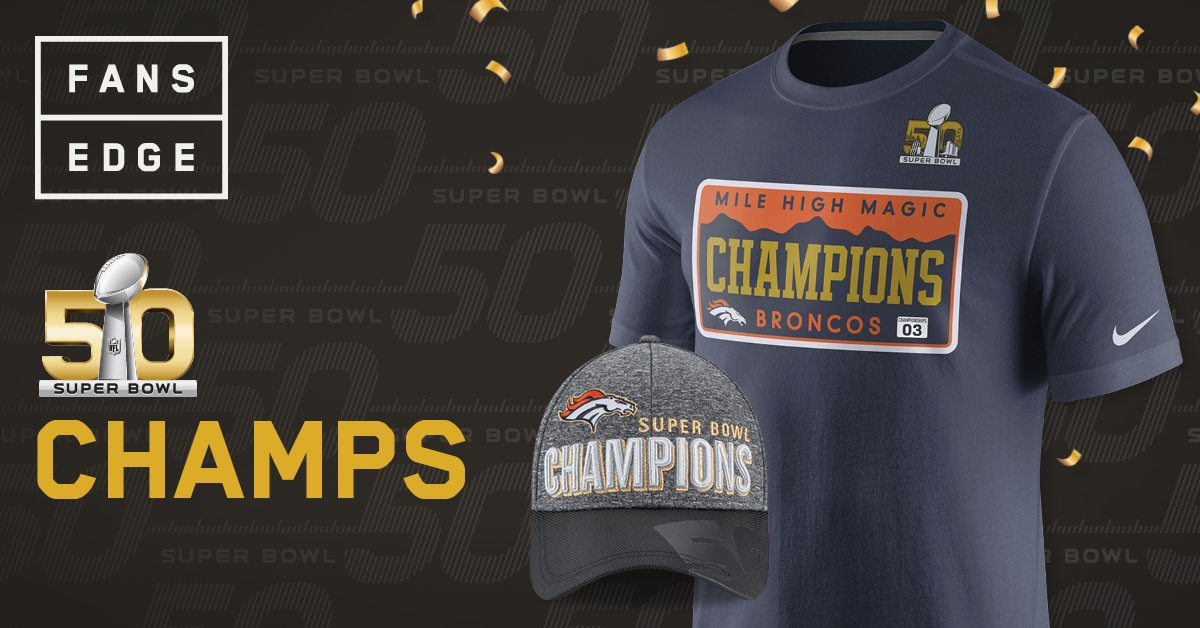 Get the #SB50 championship gear the players have on right now @FansEdge - https://t.co/9OyTOxKIt7 https://t.co/1lZYwm9Cwf