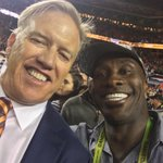 Look who I found @johnelway. #SB50 Champs https://t.co/KVEyZnfgox
