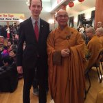 With Master Lam at Tet New Years celebration @ Truc Lam Monastery in #yeg https://t.co/ZhtwjwFm97