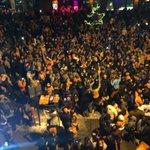 Fans take over Market Street in #Denver #Broncos #SB50 @DenverChannel https://t.co/I0BBjayNUN