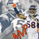 Von Miller wins Super Bowl 50 MVP! Miller: 6 tackles, 2.5 sacks, 2 forced fumbles. https://t.co/j3IjQnVOzs