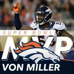 SUPER BOWL 50 MVP - @Millerlite40 ! https://t.co/ezDNyzSDD3