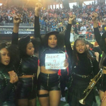 In Black Panther Garb, Beyonces Super Bowl Dancers Hold Justice For Mario Woods Sign https://t.co/hyahTuwKdz https://t.co/GZu8P5kHoe