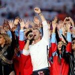 PICS: @Beyonce @coldplay & @BrunoMars slay the #SB50 halftime show. https://t.co/5D3wZJPVz8 https://t.co/m2pVGELhF0