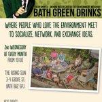 In Bath Wed evening? Love the environment? Were hosting a green groups social @EcojamBath @GreenpeaceBath @BathEcho https://t.co/niVR5fJA9m