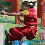 १६ बर्षीय नीमा घर्तीमगरले जिताइन सागमा नेपाललाई पहिलो स्वर्ण  बधाई छ यी चेली लाई ✋🌹 https://t.co/tI5SpRLqWv