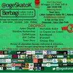 Mari berbagi & bersilaturahmi bersama di @OgesKatok Vol.3   Detail info bisa cek poster ya. :) https://t.co/7ghIlYaz7n