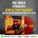 @jnrbrown263 Pre-Order now Available become the first to have it #Tongogara on the release date 12•02•16 for only $1 https://t.co/JAb5mpfSFZ