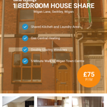 ???????? #Wigan Lane, 1 Bed House Share. ???????? £75 P/W Call: 01942 254 999 to arrange a viewing. https://t.co/t8LdEWYstk https://t.co/yy2c8oGIdo