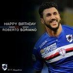 🎂 Buon compleanno #Soriano. Il centrocampista blucerchiato spegne oggi 25 candeline! https://t.co/La9Yq4sCNI