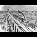 On this day 1836 The first London railway train ran from Spa Road to Deptford. #London #History #Tours https://t.co/f9TREi9C0g
