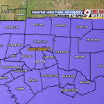 "NEW: Winter Weather Advisory begins at 6 p.m. & lasts until 6 a.m. Wednesday. 1-3"" of snow possible. @wcpo #Cincywx https://t.co/bOzaBTG6Ee"