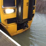 Trains are unable to run on parts of the Cambrian line due to flood water being above a safe level #StormImogen https://t.co/BciODIHWXW
