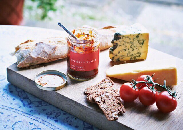 Follow and RT until 11/02 to #win @rubiesinrubble chutney gift set and bag. All made from surplus veg. #RudeRubies https://t.co/XNPtwn0Nx8