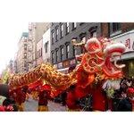 Lunar New Year parade in Manhattans Chinatown by eyesofdaniel/IG via @nycgo #newyork #nyc https://t.co/LaATxazQ2N