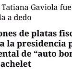 Q no se usen $40 millones de todos los chilenos en un documental publicitario de Bachelet! #NoAlDocumentalBachelet https://t.co/Zaz5GNZNd4
