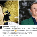 Jordan Spieth hopes to bond with Peyton Manning after the Sheriffs Super Bowl win. https://t.co/KPTFkGhr6p
