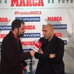 El Pitu Abelardo ya está aquí. Trofeo Miguel Muñoz #FiestaPichichi https://t.co/oSMvp5EOJa