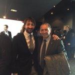 El Brujo Quini con nuestro redactor y su admirador @sergiofmarca #FiestaPichichi https://t.co/WB28YqhTMh